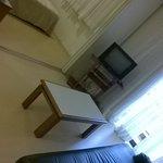 o quarto visto da sala