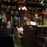 Inside Le Bistro Bon Vivant