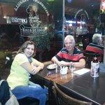 Jantando em Montevideo