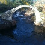 The old Carr Bridge