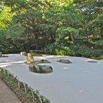 The zen garden at Asticou