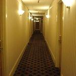 Corredores do hotel