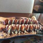 Amazing Sushi, beautiful presentation!