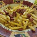Wustel patatine e mozzarella