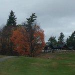 Vista da casa, área iniciação do golf!