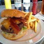 Bourbon Street BBQ Burger