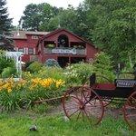 Inn and gardens