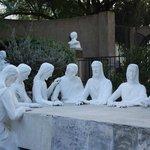 Sculptures in Garden of Gethsemane