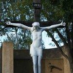 Sculpture in Garden of Gethsemane