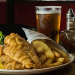 fish & chips & beer