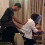 Our friend Yoav, talented spa manager
