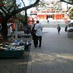 Antique Market at Shrine