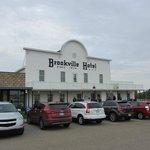 Brookville Hotel Entry