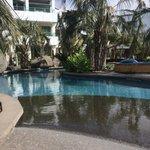Awesome lagoon pool