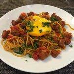 Oriental spaghetti!