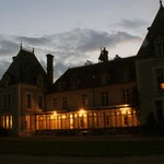 Chateau Igny bij valavond