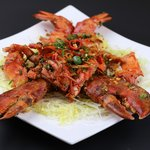 stir fried lobster