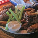 full order of wings, Wild Wing Cafe, Bower Parkway, Columbia, SC Nov 2014
