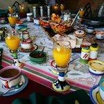 Peters legendärer Frühstückstisch