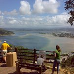 "Knysna Lookout point at ""The Heads"""