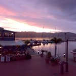 Sunset over the Waterfront in Knysna