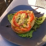 Tarte fine Tomate