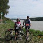 along the Danube