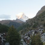 View of the Matterhorn from our Room # 407