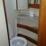 Main cabin restroom