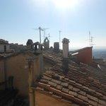 Panorama spettacolare sui tetti