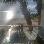 por do sol beachfront villa