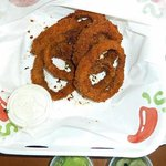 Spiced Panko onion rings