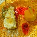 Tocino de cielo y tarta de limón con merengue