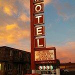 The iconic Key Motel sign
