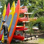 We offer Paddle Board rentals