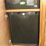 safe and fridge