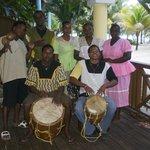 Local Garifuna Band and Dancers