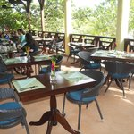 Great Hall dining area balcony/patio