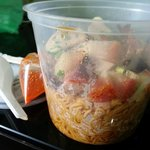 Small portion of Kon Lao Mee with Mixed Roasted Meat (Takeaway)