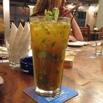 One of the amazing passionfruit mojitos