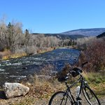Pic of the bike and river