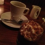 Dark Chocolate Budino with Sea Salt Crumble ($9)