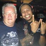 Bill and manager Joe