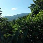 Peak is Wat Suthep, this is Doi Suthep from my bedroom window.
