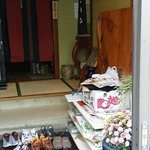 Daiya Inn - Messy Front Door with Owner's Shoes, Definitely not guests shoes (3)