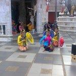Wat Suthep entertainment for tourists.
