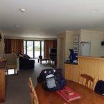 Upstairs lounge & Kitchen