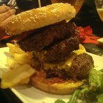 irish corner : fat and furious burger