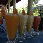 Fresh fruit juice... Super