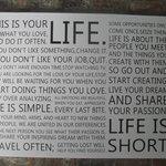Inspiration wall statements